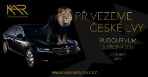 Přivezeme české lvy